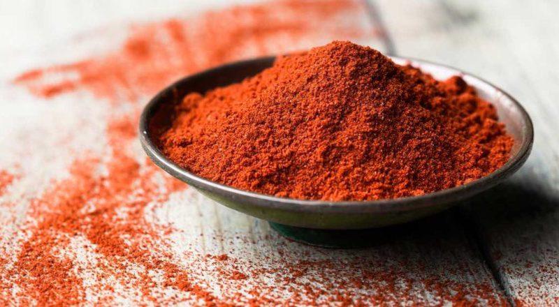 Paprika Polvere Peperoncino Dolce Piccante Affumicata