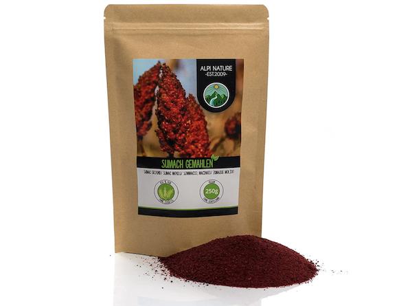 Sommacco Mediorientale Sicliano Spezia Antiossidante4